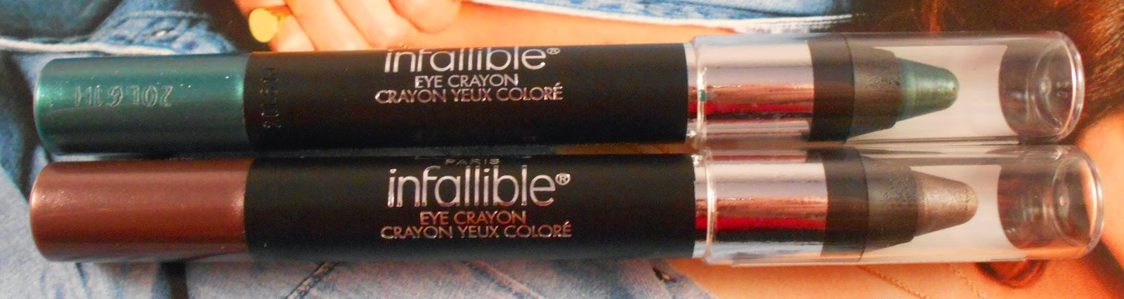L'Oreal Infallible Eye Crayons