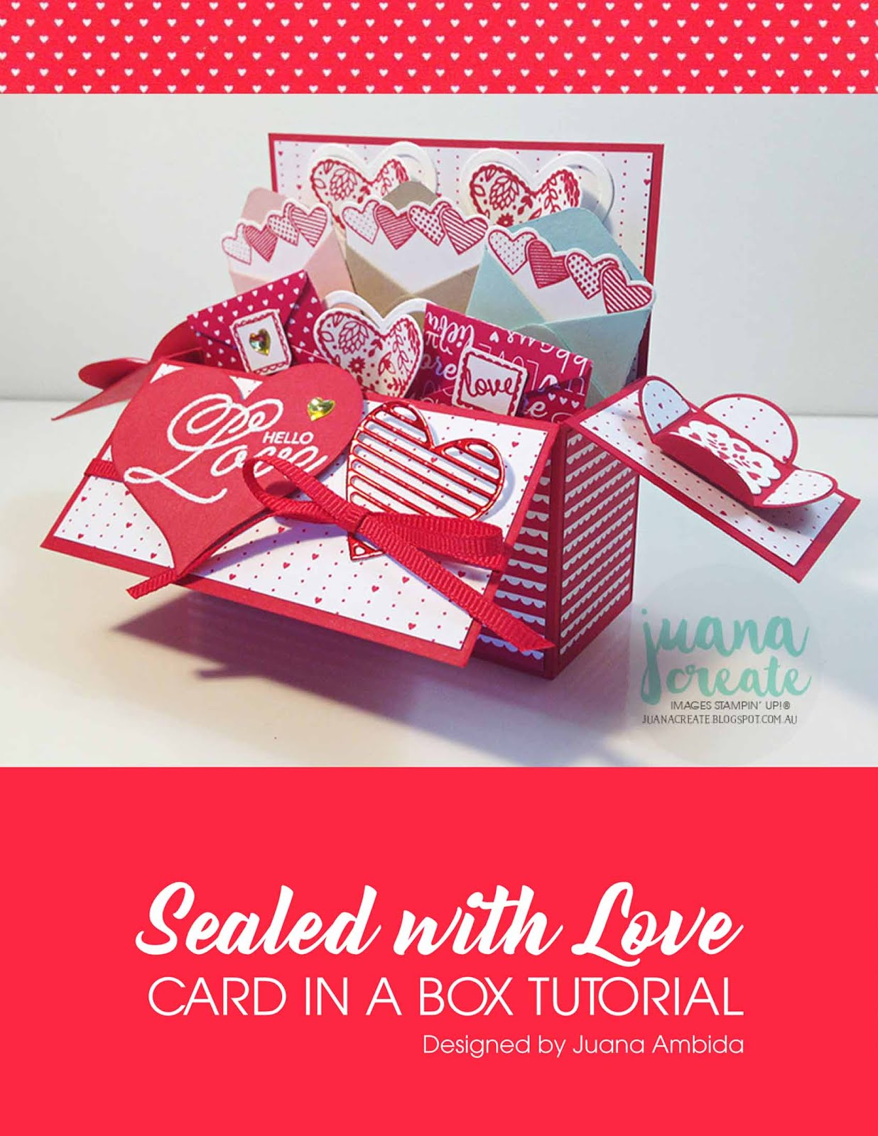Sealed With Love Card in a Box Tutorial