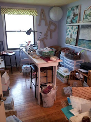 Sue Allemand Studio B - before pic