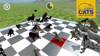 Yoko Ono's Doggie Chess app