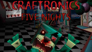 Screenshots of the Craftronics Five nights for Android tablet, phone.