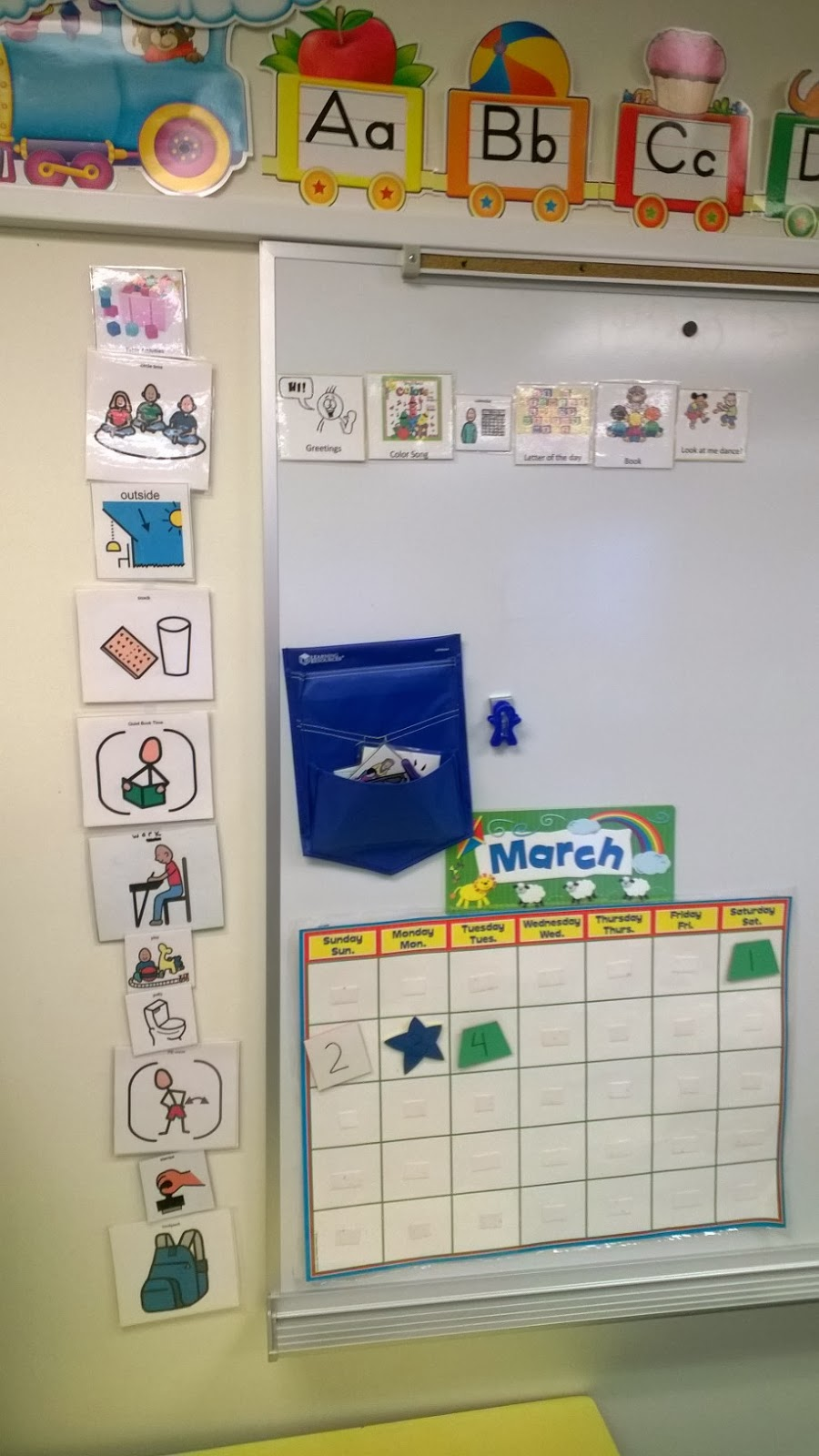 Learning Knows No Bounds   Teaching Special Education Preschool : Visual  Schedules