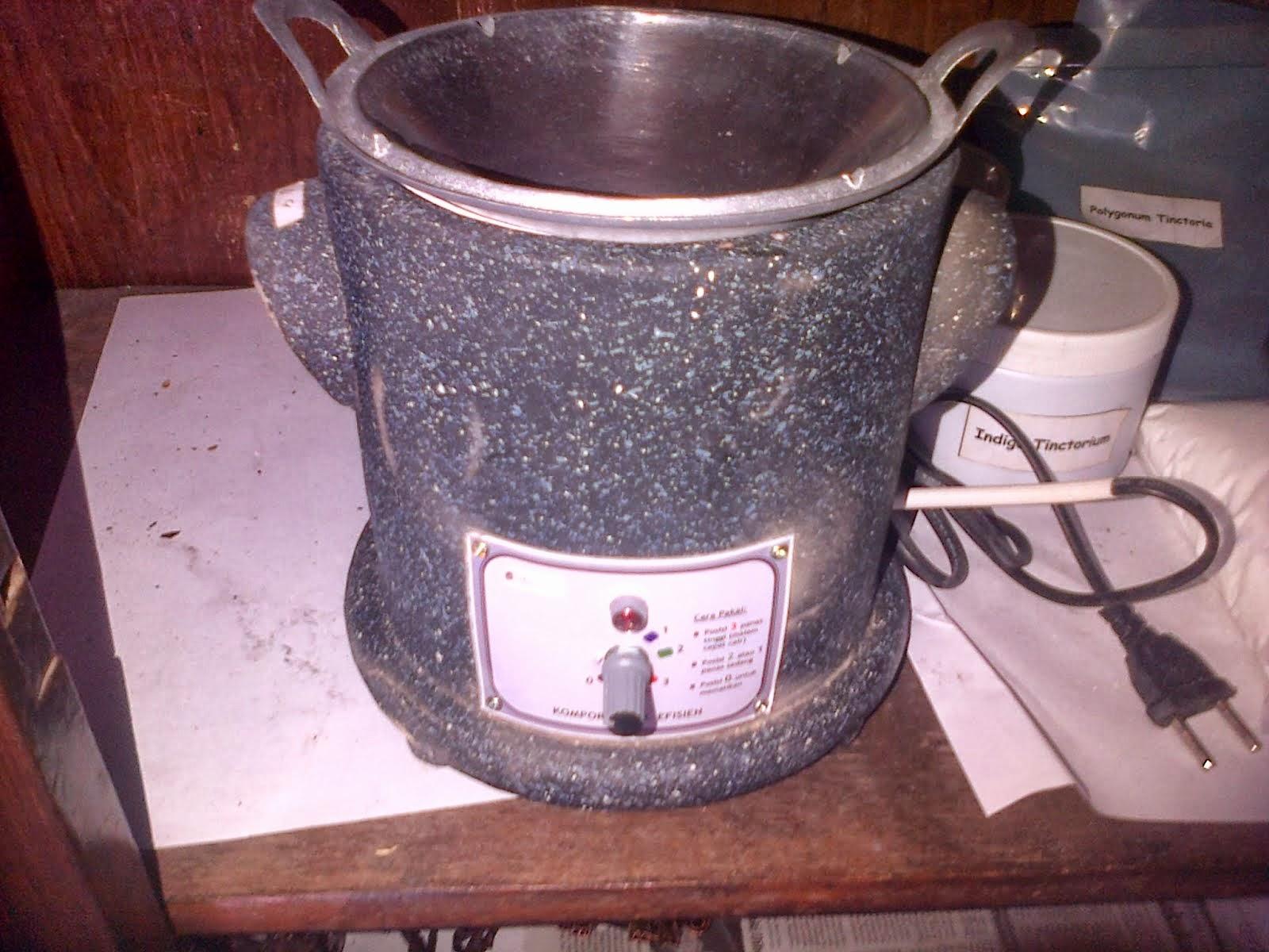 kompor listrik batik