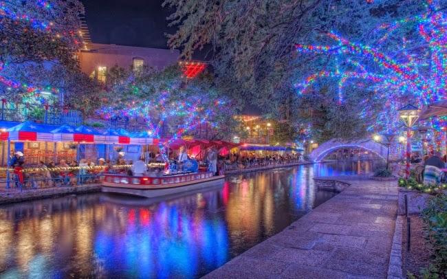 Улочка в Сан-Антонио, штат Техас
