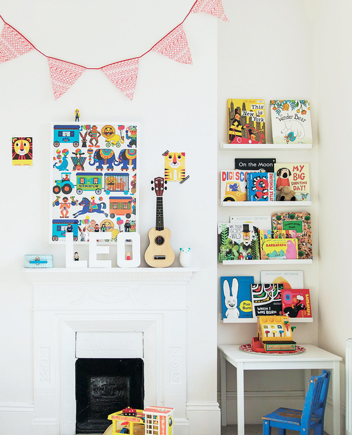 Creative children's spaces book by Ashlyn Gibson