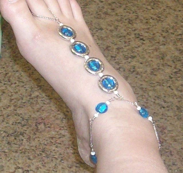 making your own jewelry how to barefoot sandals
