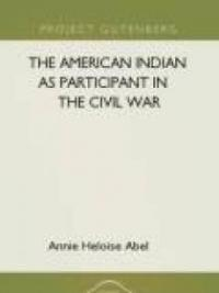 The American Indian as Participant in the Civil War