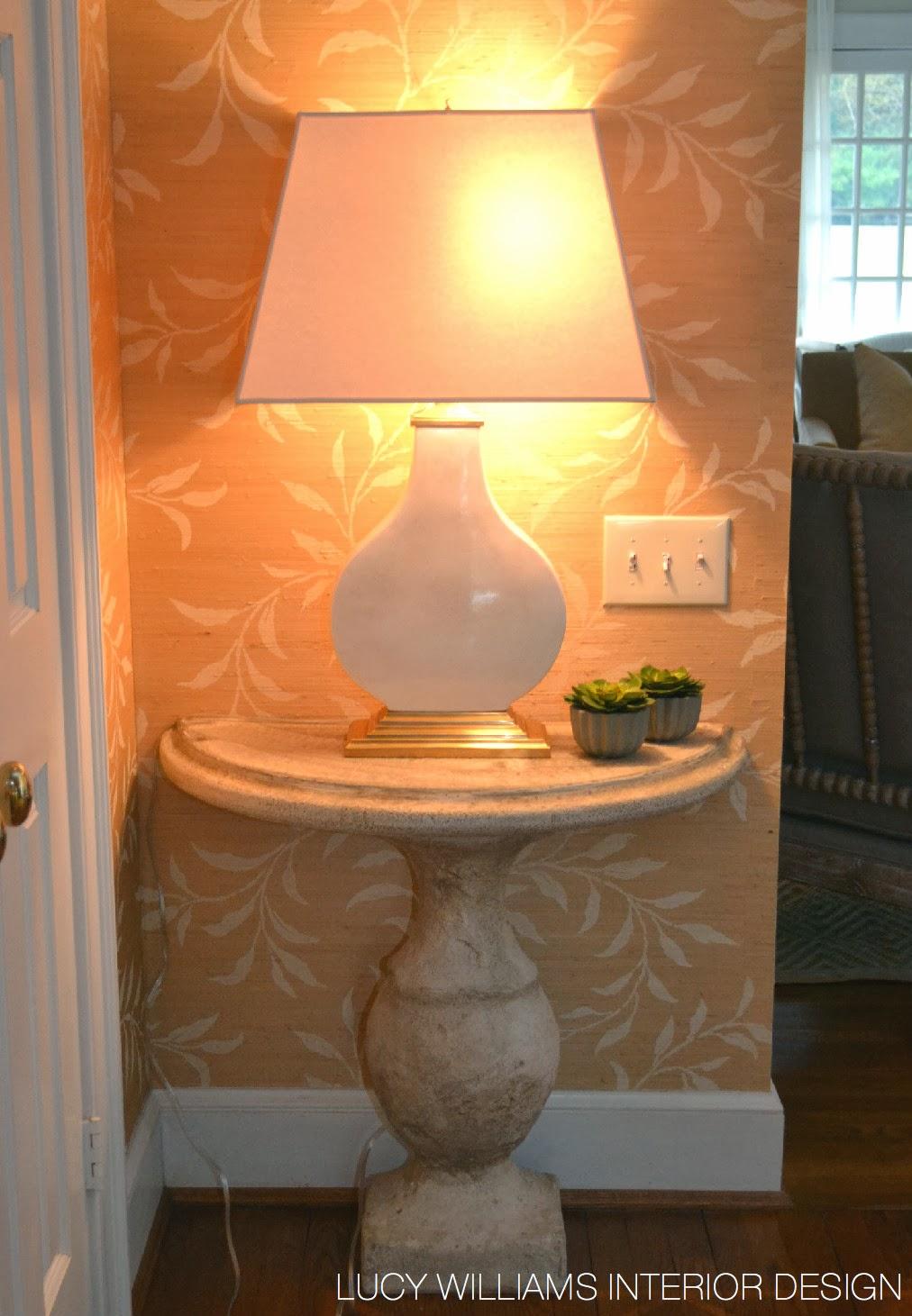 Lucy williams interior design blog pinewood foyer makeover for Lucy williams interiors