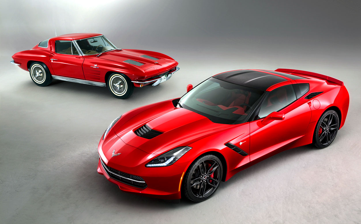 original corvette stingray with 2014. Cars Review. Best American Auto & Cars Review