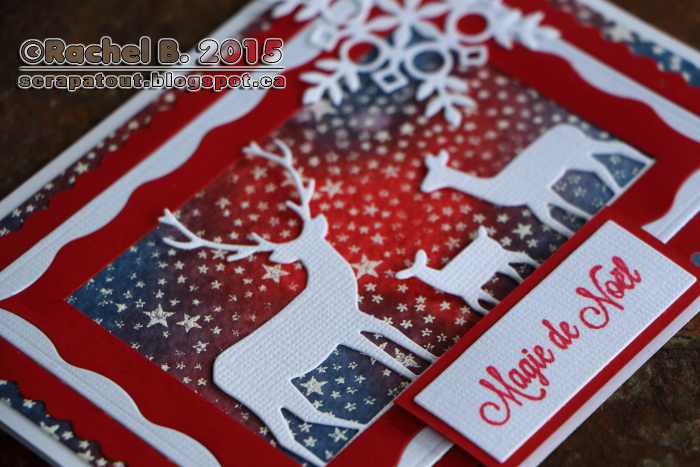 Memory Box, Noël, Handmade card, Impression Obsession