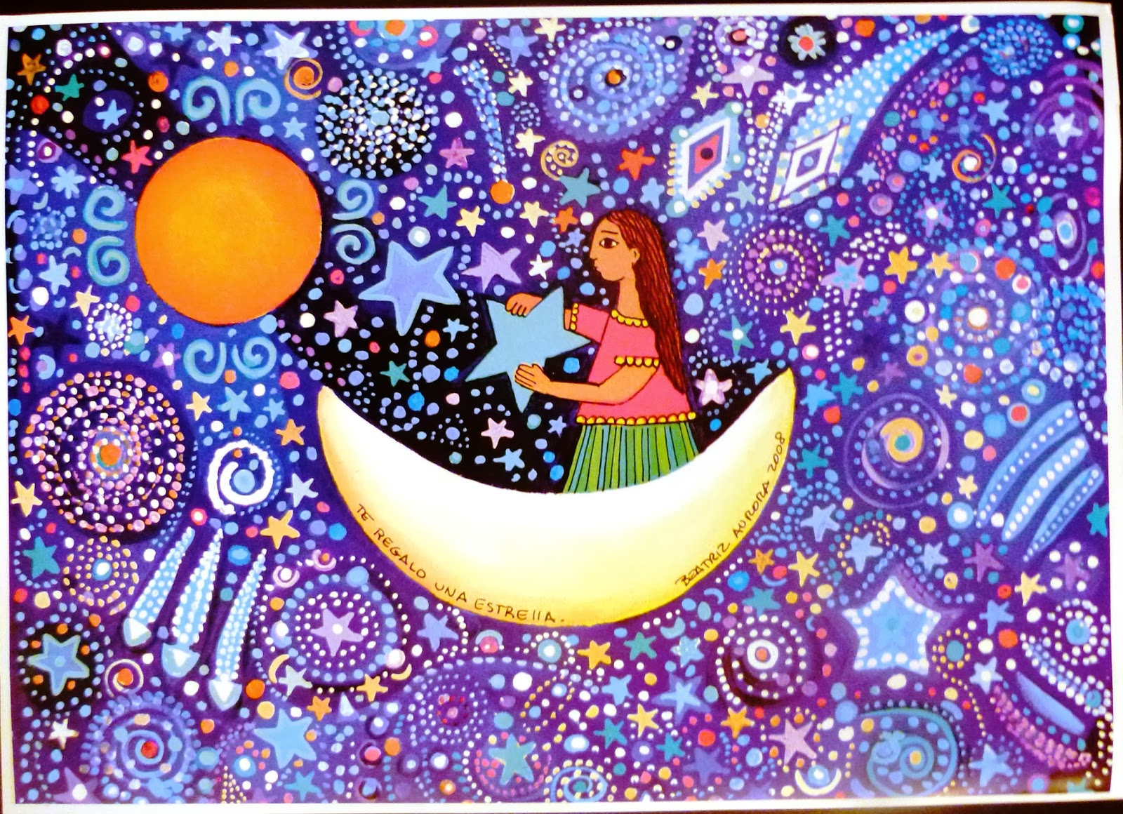 Beatriz aurora pinturas for Pinterest obras de arte