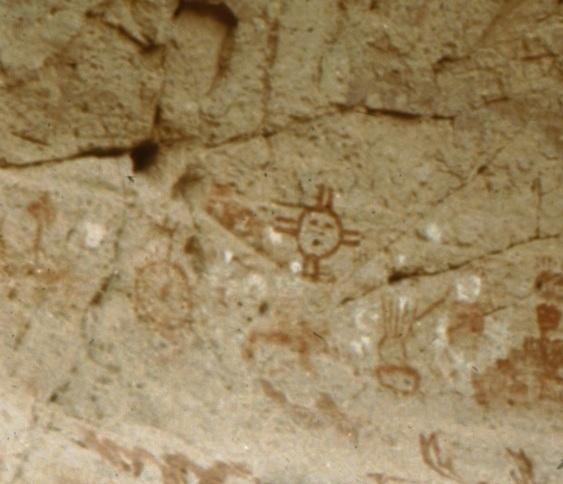 Rock Art Blog Atmospheric Optics The Zia Sun Symbol And The Four