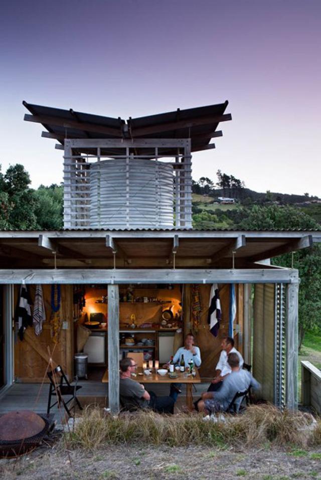 Casa minimalista da Nova Zelândia