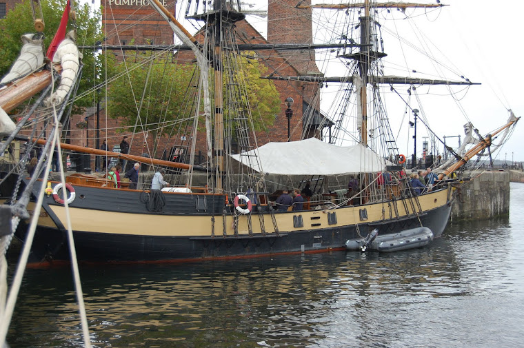 "tall ship ""PHOENIX"" at Liverpool"