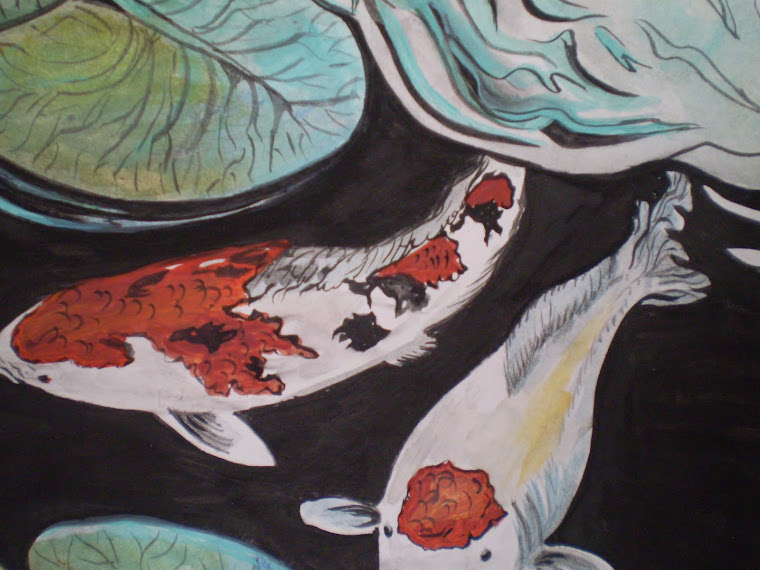 Koi fish,detail2
