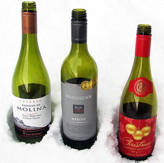 joulu 2018 viinit Joulun kinkkuviinit 2015   Pinot Noir, Merlot ja Christmas  joulu 2018 viinit