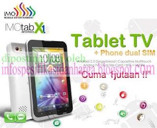 Harga IMO X-One PC Tablet Terbaru 2012
