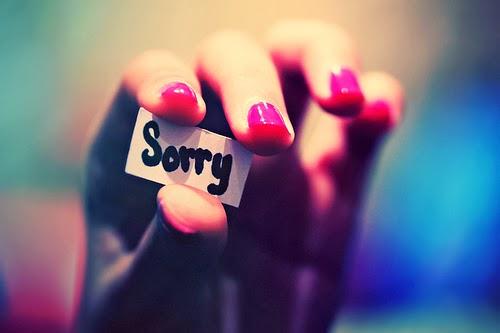 kata maaf untuk mantan