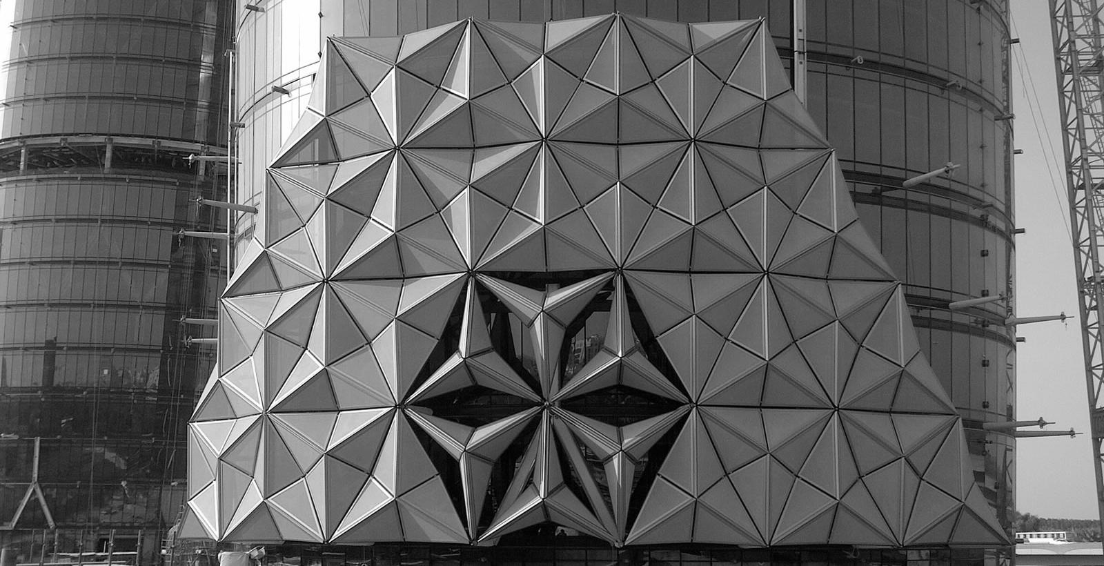 Salon202 Aedas Fabricates Kinetic Facade In Abu Dhabi