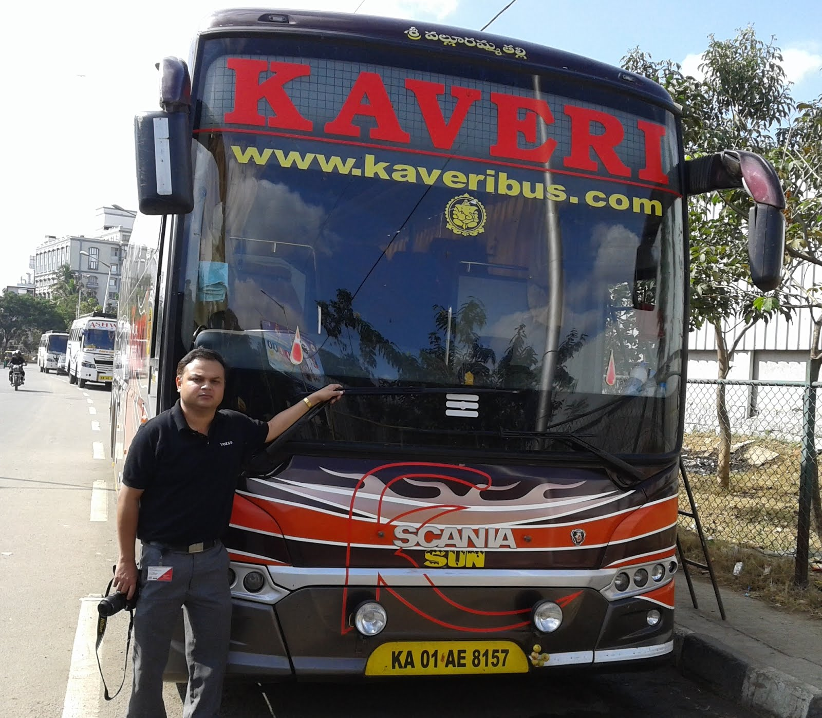 KAVERI SCANIA SEMI SLEEPER