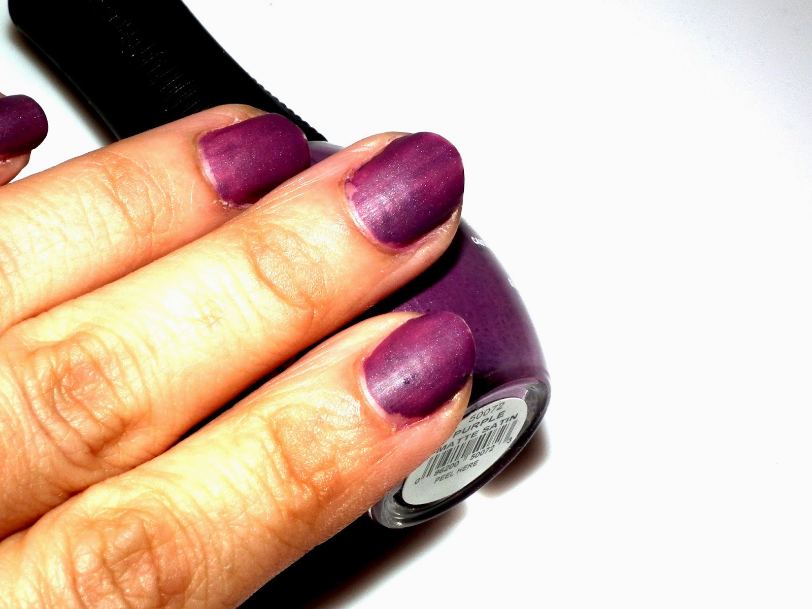 The gallery for --> Purple Matte Nail Polish