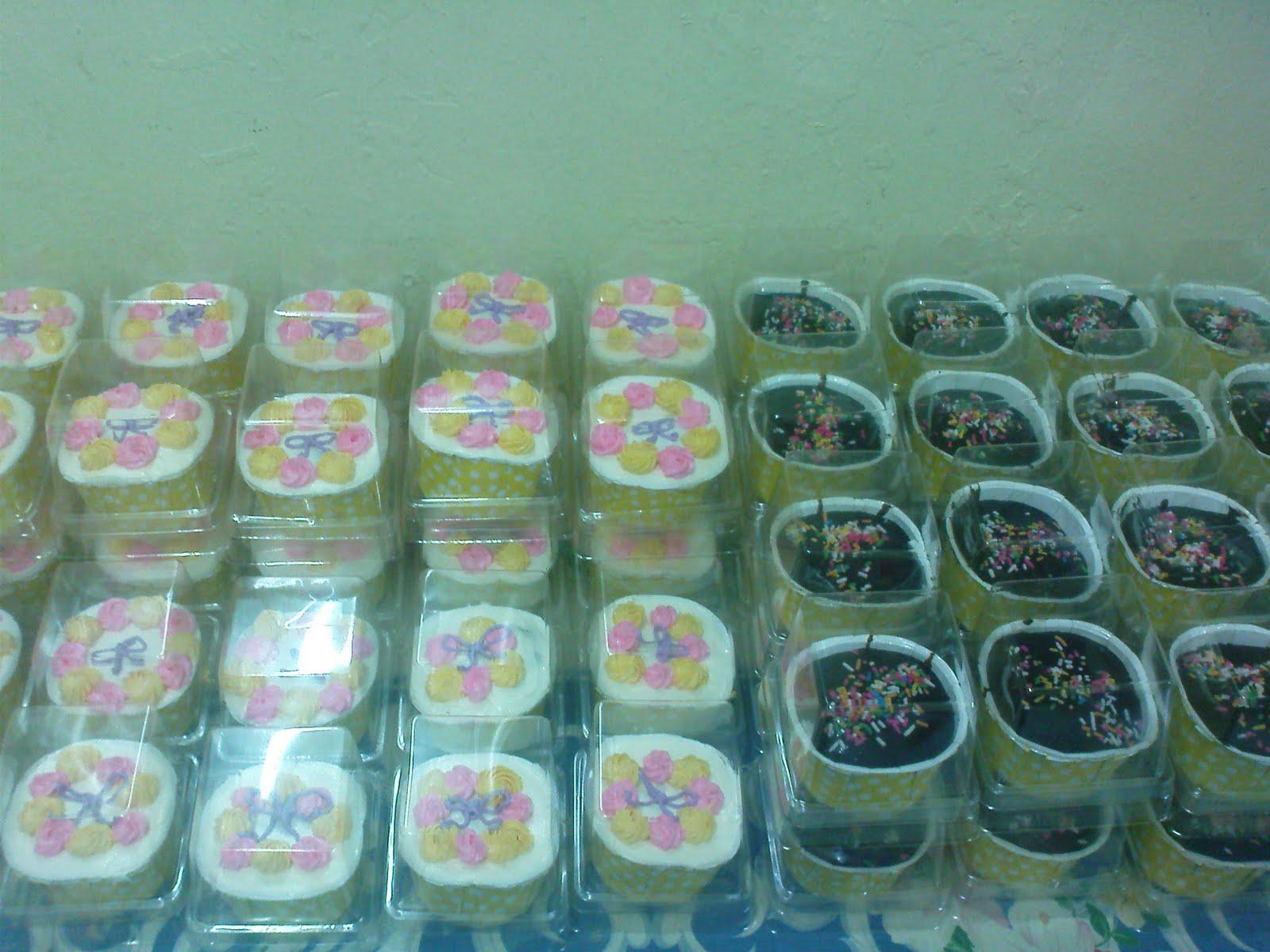 Cupcakes door gift majlis perkahwinan si manis comel for Idea door gift perkahwinan