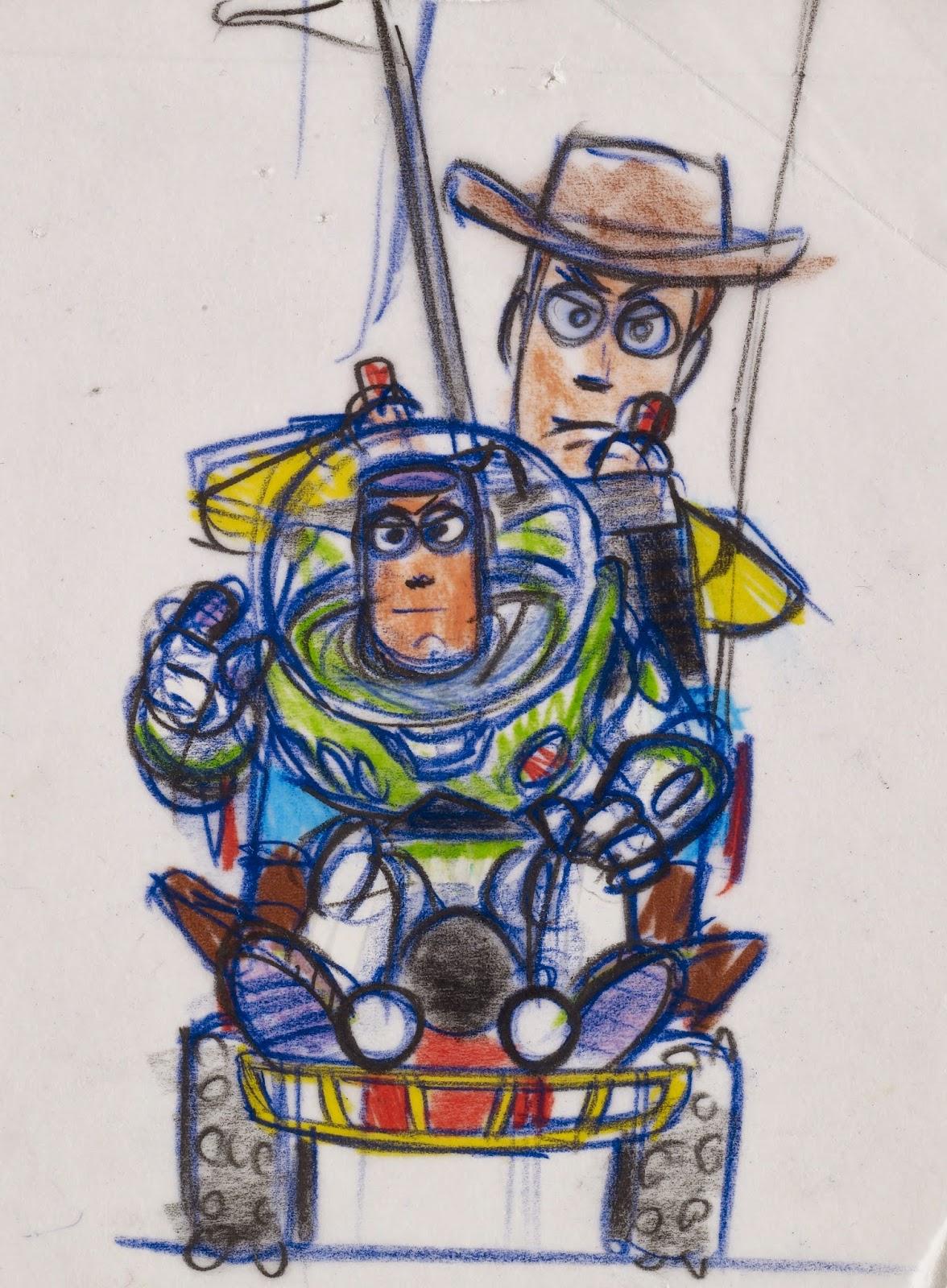 Pixar Exposición by La Merienda a las 5