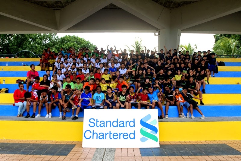 Standard Chartered Bank Tag Rugby Carnival 2014