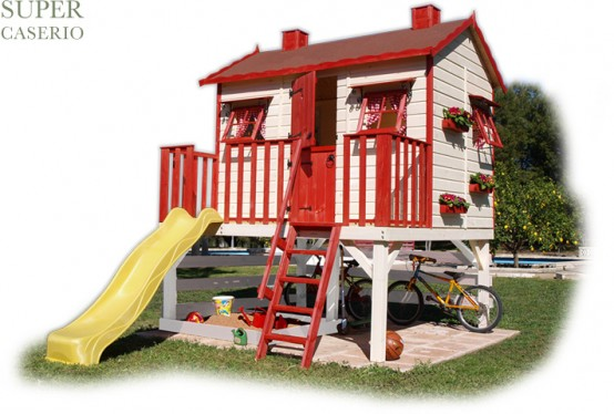 Full Color Outdoor Playhouses For Kids ~ Interior House 2013