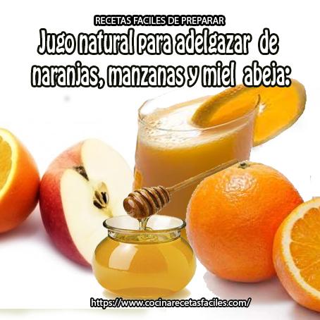 manzanas,naranjas,miel de abeja,agua