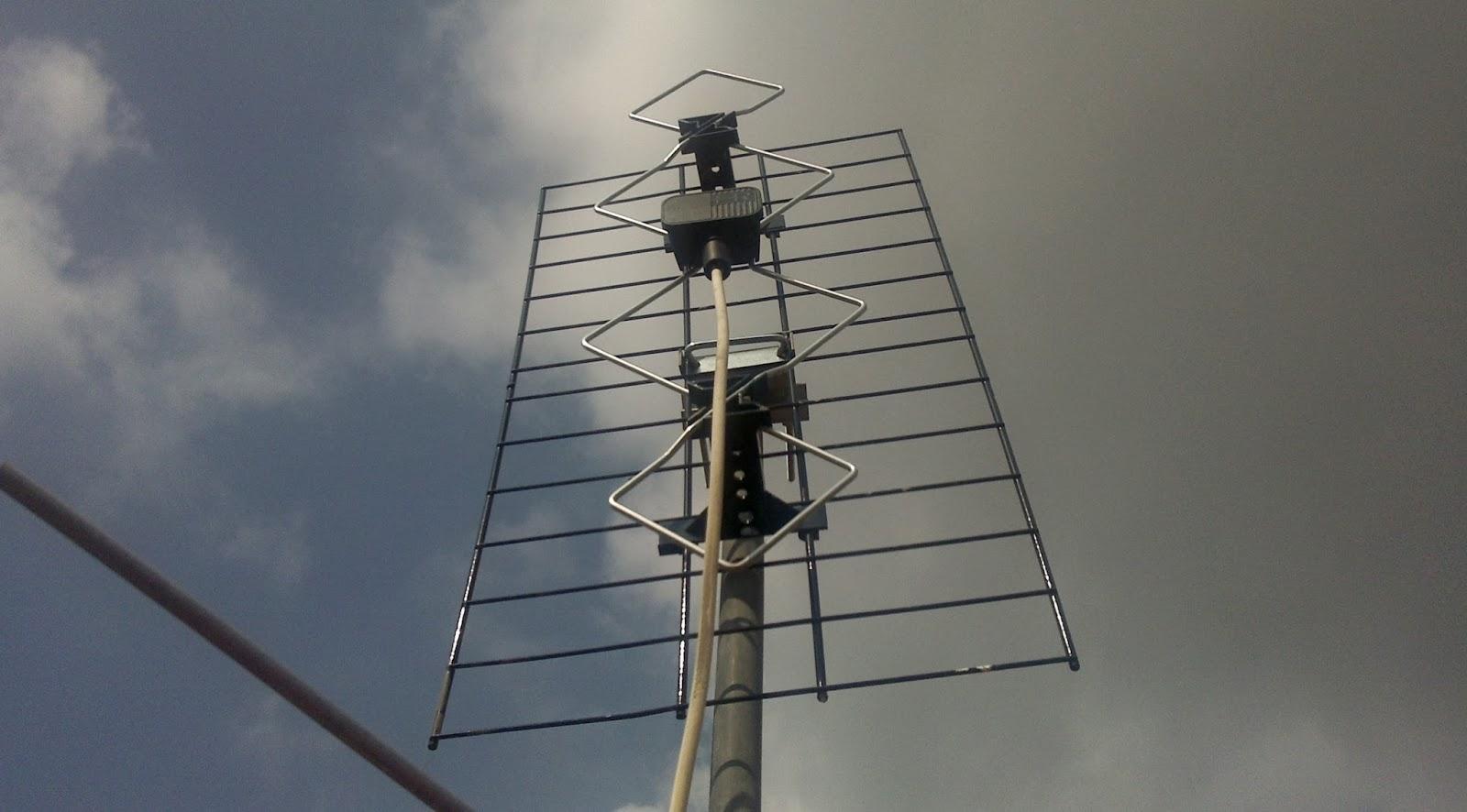 Come orientare antenna tv senza chiamare il tecnico - Cavo antenna tv piatto per porta finestra ...