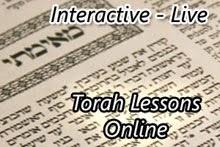Learn Torah Online - Live!