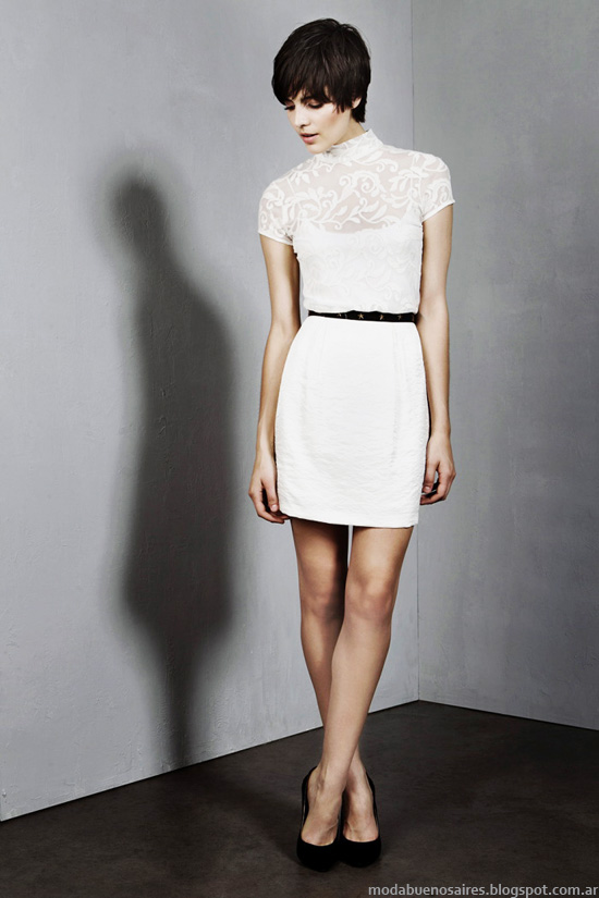 Moda casual femenina invierno 2014.
