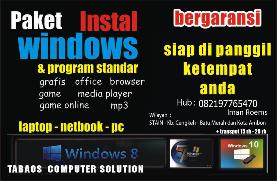 Jasa Install Computer