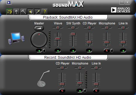 SoundMAX Integrated Digital HD Audio - sp45615.exe driver ...