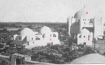 Komplek Pemakaman Baqi Sebelum Dihancurkan Wahabi