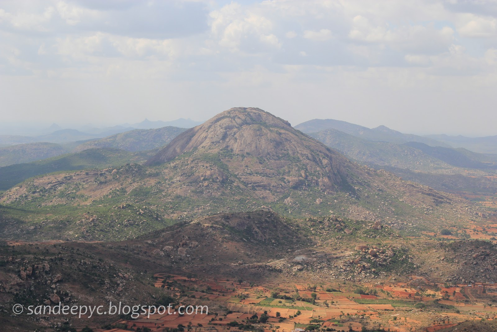 View around the Nandi hills