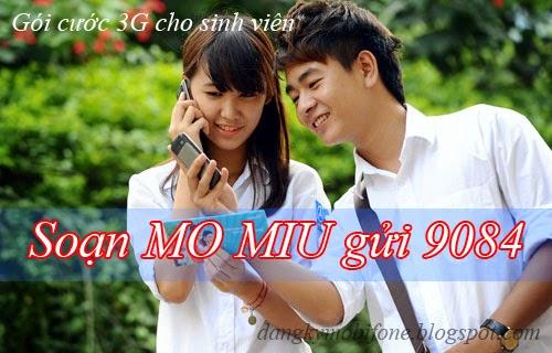 Gói cước 3G cho sinh viên của Mobifone