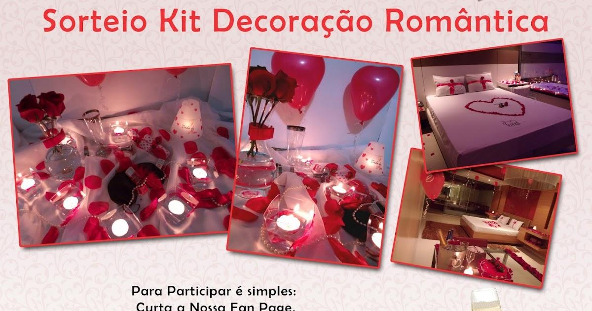 Kit Decoração Romântica  Dedo de Moça  Surpresas para Namorados