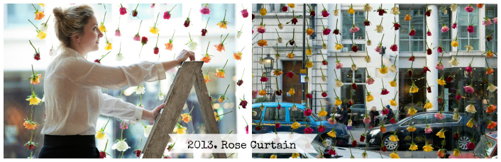 Rebecca Louise Law. Curtain Rose The Mill.