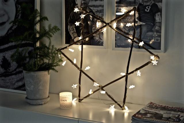tine k, house doctor, joulu, jouluvalot, huonekuusi, skandinaavinen, valkoinen joulu