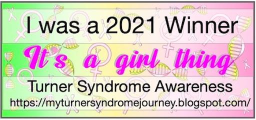 Sponsor Winner My Turner Syndrome challenge