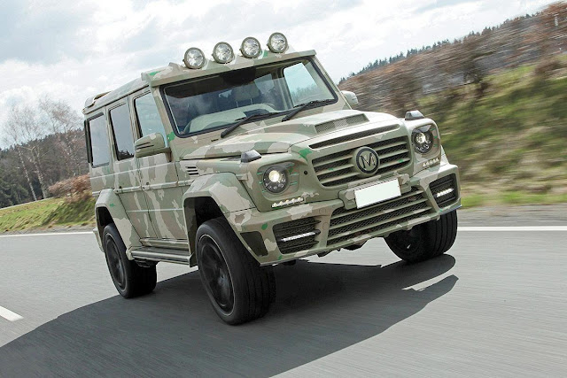 mercedes mansory
