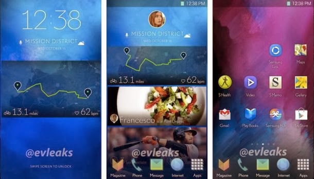 Could this be the new Samsung Galaxy S V (S5), the new flagship to come later this year from Samsung