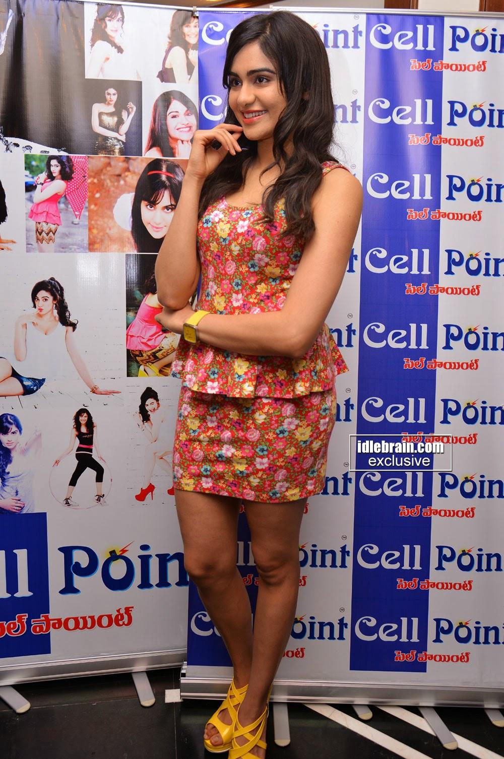 Adah Sharma as brand ambassador for Cell Point