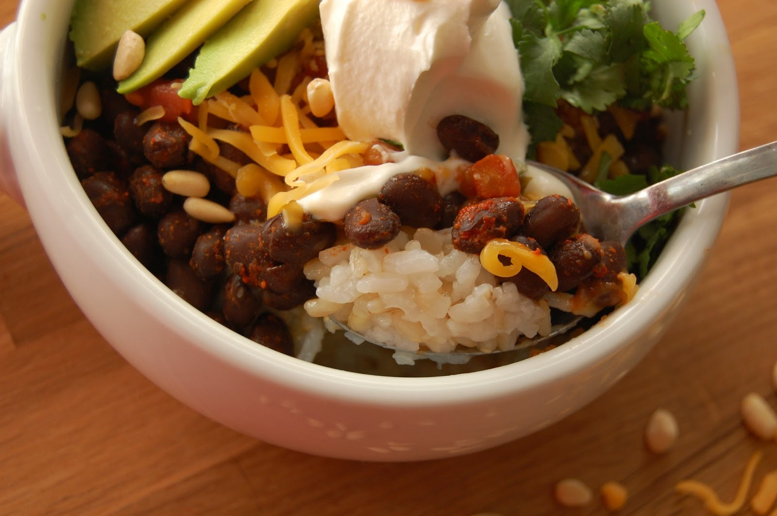Southwestern Brown Rice Bowl