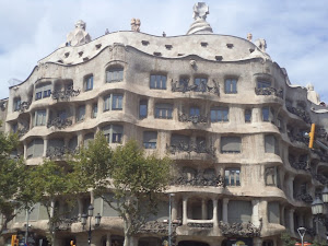A Barcelone... La Pedrera