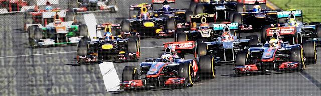 Jadwal Balapan Formula 1 Tahun 2014