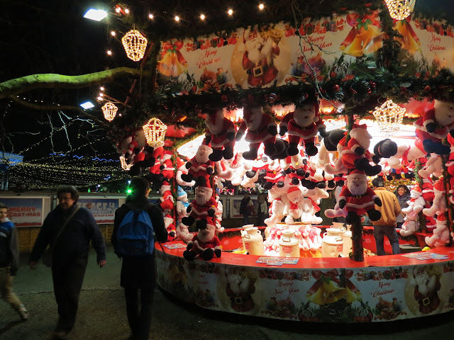 Chrismas market hyde park london
