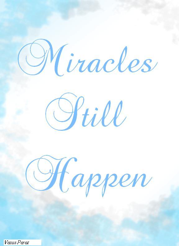 GOOD NEWS!: Miracles